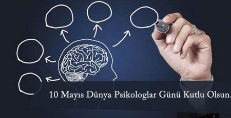 10 Mayıs Dünya Psikologlar Günü Kutlu Olsun...
